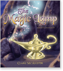 Cover image for personalized children's book, The Magic Lamp