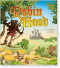 Cover image for the english children's book, Robin Hood