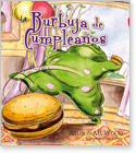 Cover image for the english children's book, La Burbuja De Cumpleaños