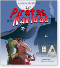 Cover image for the english children's book, Los Piratas de la Navidad