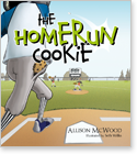 Cover image for personalized children's book, The Homerun Cookie