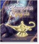 Cover image for the english children's book, La Lámpara Mágica