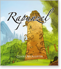 Cover image for the english children's book, Rapunzel